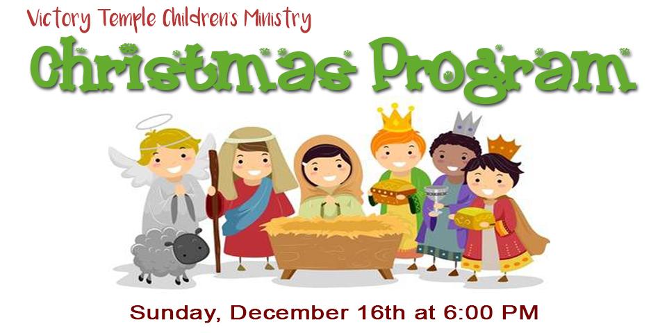 Preschool Christmas Program - Effort Christian School and Preschool